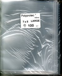 Polyprotec wallets 7 x 5 per pack of 100