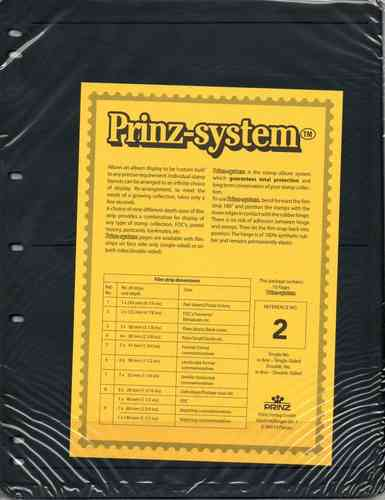 Prinz System single sided 2 strip pages per 10
