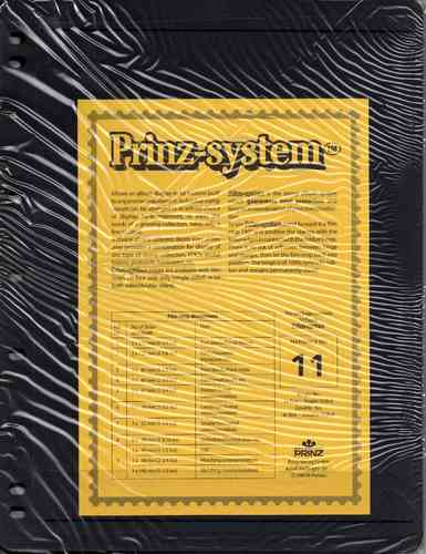 Prinz System double sided 1 strip pages per 10