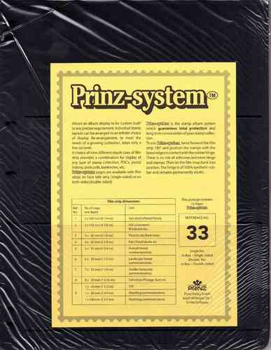 Prinz System double sided 3 strip pages per 10