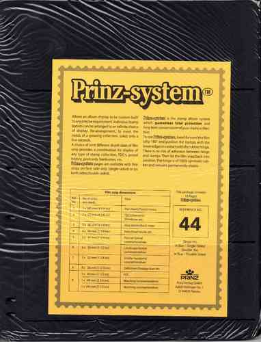Prinz System double sided 4 strip pages per 10