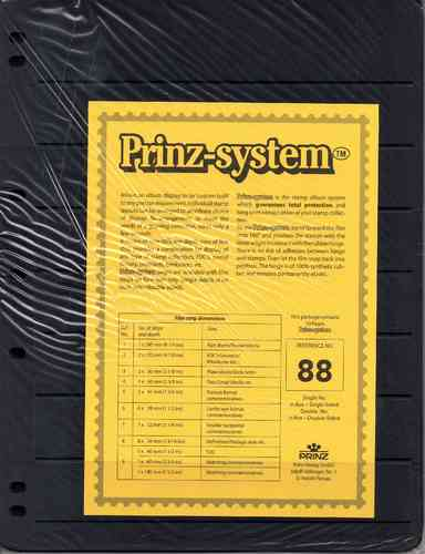 Prinz System double sided 8 strip pages per 10