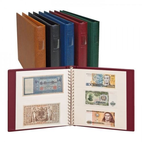 Lindner luxury banknote album with 20 pages